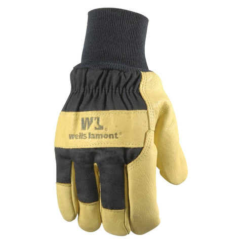 Wells Lamont Insulated Grain Pigskin Lined Leather Palm Gloves-Men-XLrg-Hand & Foot-Wells Lamont-Garibaldi General