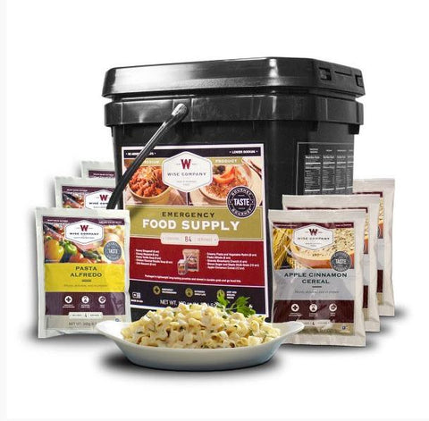 Wise Foods 84 Serving Breakfast and Entree Grab N Go Food Kit-Food-Wise Foods-Garibaldi General