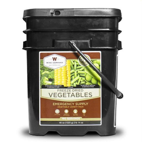 Wise Foods Freeze Dried Vegetable 160 Servings - Gluten Free-Food-Wise Foods-Garibaldi General