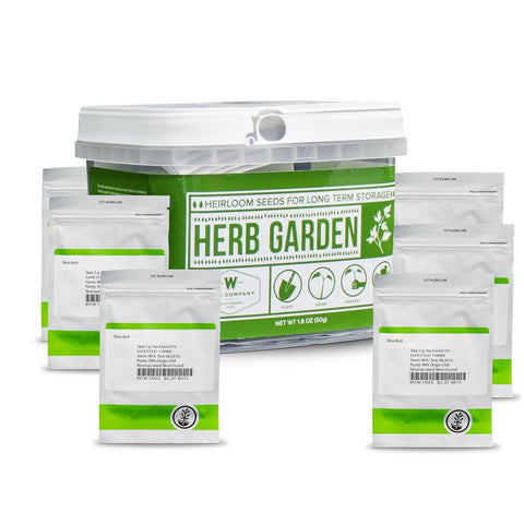 Wise Foods Herb Heirloom Seed Bucket-Food-Wise Foods-Garibaldi General