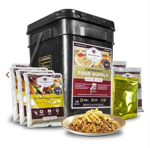 Wise Foods Prepper Pack 52 Servings-Food-Wise Foods-Garibaldi General