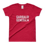 Women's Garibaldi General Tree-Shirt-Shirts-Garibaldi General-Red-XS-Garibaldi General