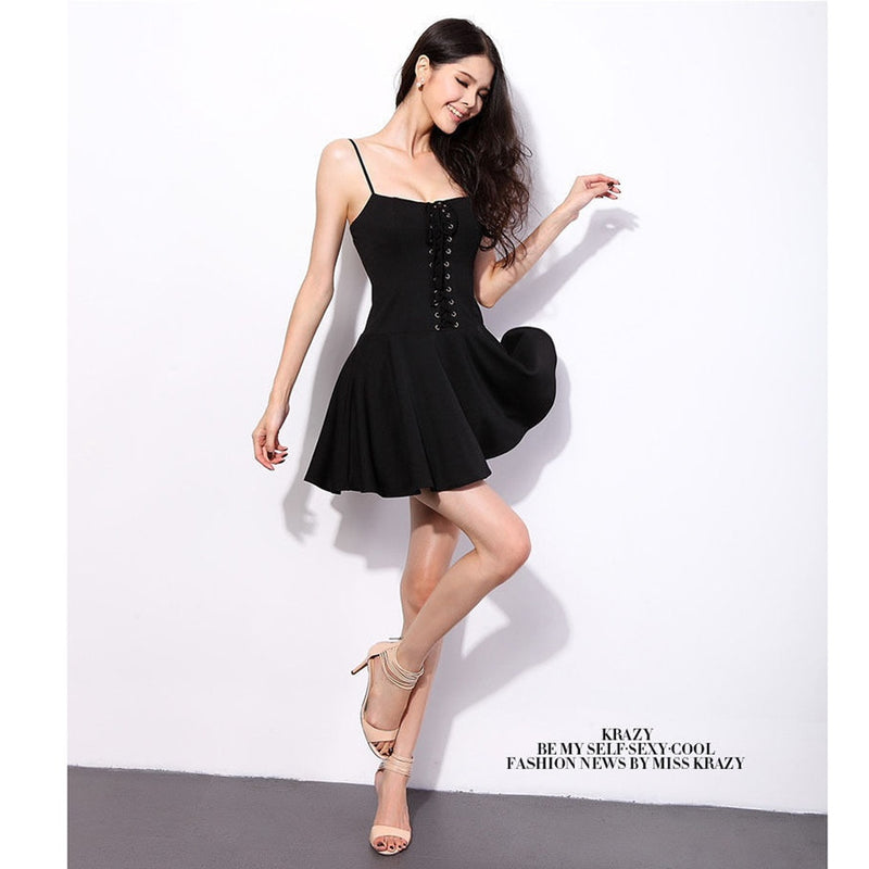 New Sexy Women Summer Casual Sleeveless Party Evening Cocktail Mini Dress