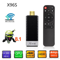 X96S Fire TV Stick Android 8.1 TV Box Amlogic S905Y2 DDR4 2GB / 16GB 4GB / 32GB Bluetooth 4K MINI Dongle Firestick Smart TV