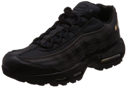 NIKE Men's Air Max 95 Premium SE Black/Metallic Gold 924478-003