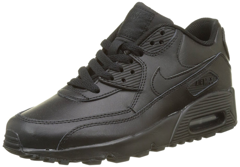 Nike Big Kids Air Max 90 Leather Running Shoes 1