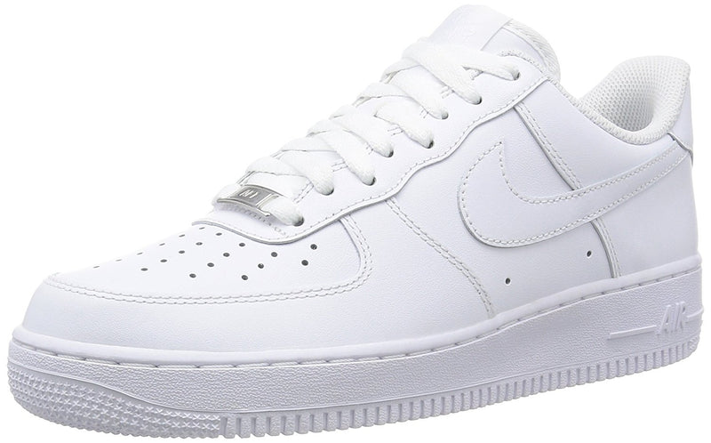 Nike Men's Air Force 1 '07 LV8 Fashion Shoes Light Armory Blue/White/Black