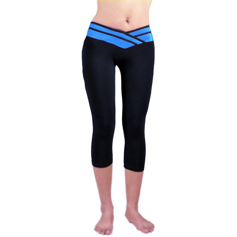 Women Yoga Pants Sport Fitness Night Running Sportswear Tights Quick Drying Compression Trousers Gym Slim Legging