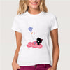 T-shirt Cartoon manches courtes en Cotton