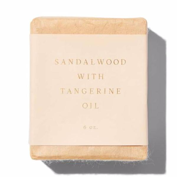 Saipua Sandalwood with Tangerine Oil Soap Bar on The Moment, Clean Beauty
