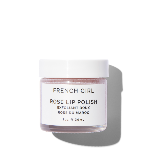 French Girl Organics Rose Lip Polish on The Moment