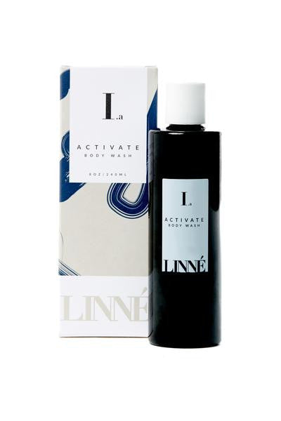LINNÉ Botanicals Activate Body Wash