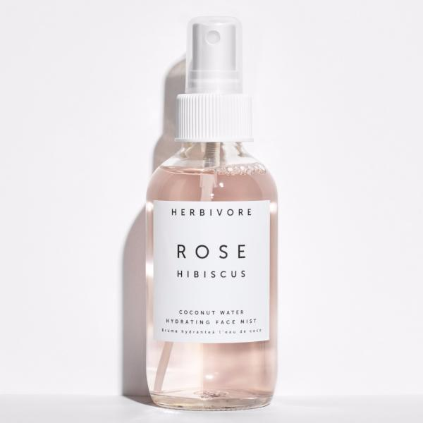 Herbivore Botanicals Rose Hibiscus Hydrating Face Mist on The Moment