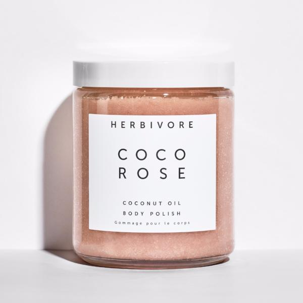 Herbivore Botanicals Coco Rose Body Polish on The Moment