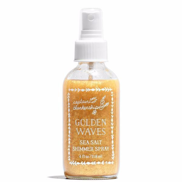 Captain Blakenship Golden Waves Sea Salt Shimmer Spray on The Moment