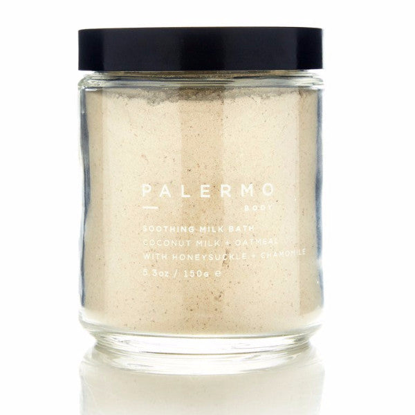 Palermo Soothing Coconut, Oatmeal Milk Bath, Organic, Wild Harvested, The Moment, Natural Beauty