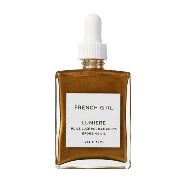 French Girl Organics Lumiére Bronzing Oil on The Moment