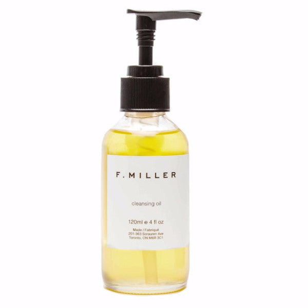 F. Miller's new Cleansing Oil from The Moment