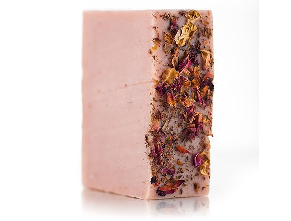 Osmia Organics Milky Rose Bar Soap from The Moment, made with essential oils and so moisturizing
