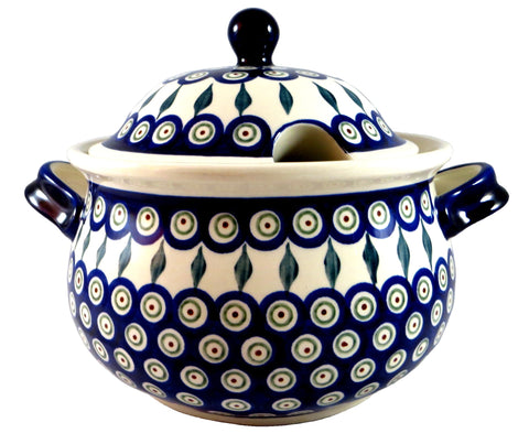 "Soup Tureen, 8"" x 6: 3 Quarts"