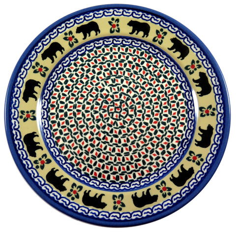 "12080-3202 9.75"" luncheon plate bear pattern"