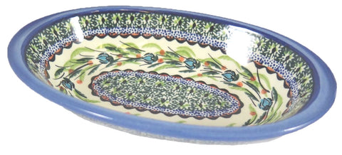 "Small Oval Server; 8.5"" x 5"""