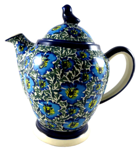 Teapot with Bird Lid; 40 oz