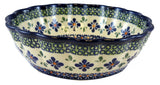 1278-DU60 medium fluted bowl side view