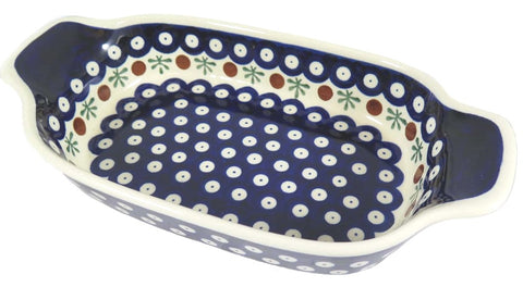 "Small Rectangular Baking, Serving Dish; 10"" x 5"" x 2"""