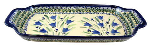 "Rectangular Tray with Handles; 10"" x 5"" x 2"""