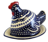 "Roosting Hen with Tray; 14"" x 10"" x 10"""