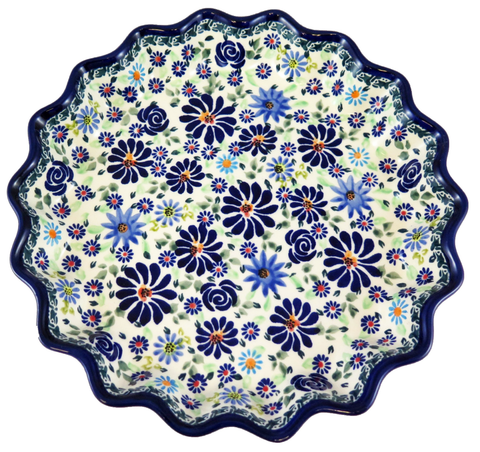 Fluted Pie, Quiche Plate; 10""
