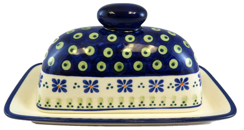 1377-296A butter dish side view