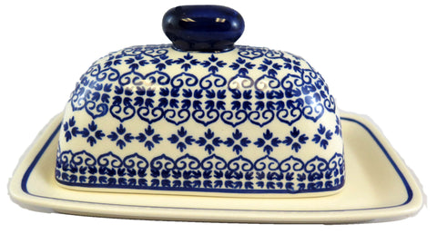 1377-922 butter dish side view