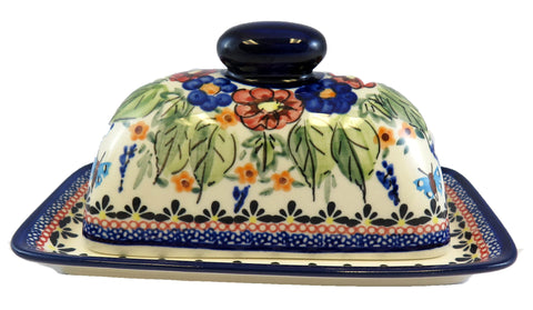 1377-Art149 butter dish side view