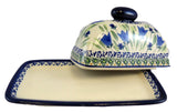 1377-Art160 butter dish open view