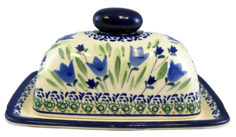 1377-Art160 butter dish side view