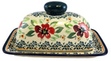 1377-DU116 butter dish side view