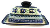 1377-DU121 butter dish side view