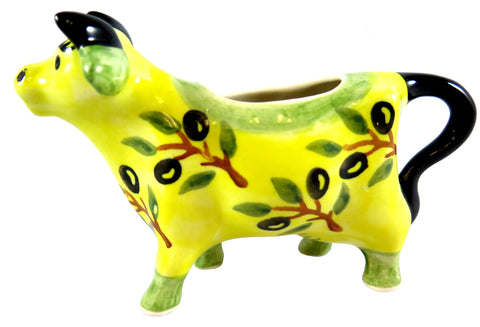 14130-4007 Cow creamer side view