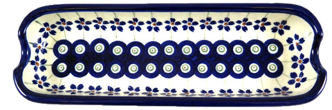 1517-166A butter, cracker, olive tray top view