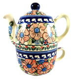 Teapot for One with Cup; 16 oz