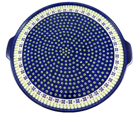 Extra Large Round Serving Tray; 16""