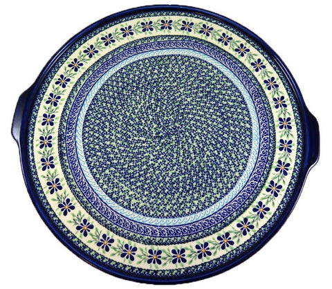 1690-DU121 extra large round serving tray