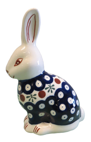 "Sitting Rabbit; 6.25"" high x 4"" x 2.5"""