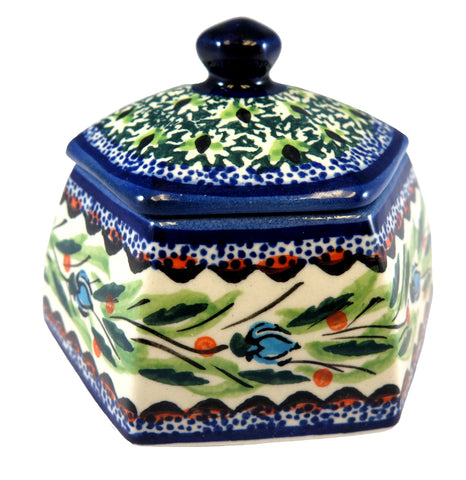 "Small Lidded Box; 4"" x 3"""