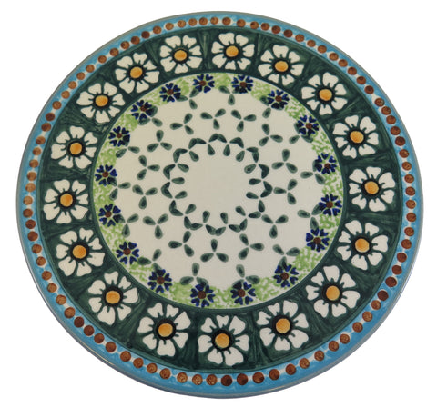 Round Cheese Board, Trivet; 7.75""