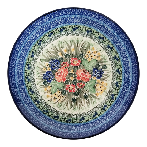 "Dinner Plate; 10"", Unikat, Signed by the Artist"