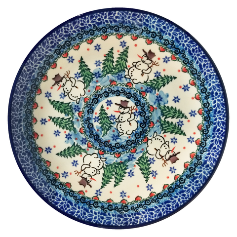 "Salad Plate; 7.75"", Unikat, Signed by the Artist"