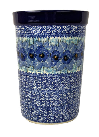 "Utensil Jar, Wine Cooler 8"" by5 1/4"" Unikat, Signed by the Artist"